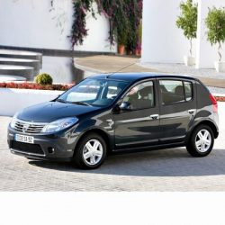 For Dacia Sandero (2008-2012) with Halogen Lamps