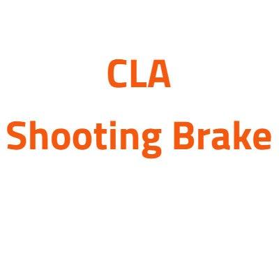 Mercedes CLA Shooting Brake autó izzó