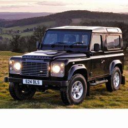 Autó izzók az 1990 utáni halogén izzóval szerelt Land Rover Defender-hez