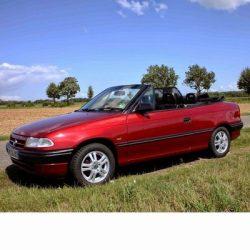 Autó izzók halogén izzóval szerelt Opel Astra F Cabrio (1993-2001)-hoz
