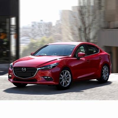 Autó izzók halogén izzóval szerelt Mazda 3 Sedan (2016-2019)-hoz