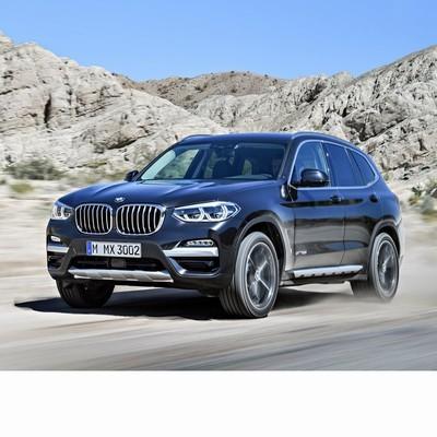 BMW X3 (G01) 2018 autó izzó