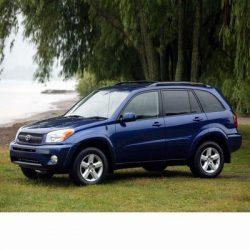 Autó izzók halogén izzóval szerelt Toyota RAV4 (2000-2006)-hez