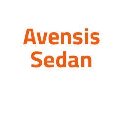 Toyota Avensis Sedan autó izzó