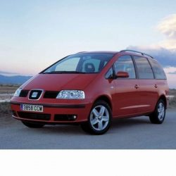 For Seat Alhambra (2001-2004) with Xenon Lamps
