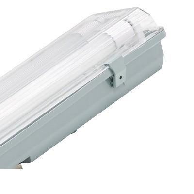 Por és páramentes lámpatest LED fénycsővel