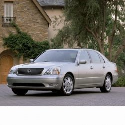 Autó izzók halogén izzóval szerelt Lexus LS (2000-2006)-hez