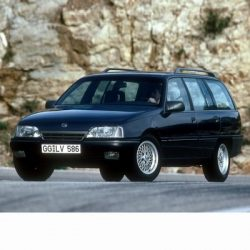For Opel Omega A Kombi (1986-1994) with Halogen Lamps