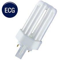 2pin-3U, TC-T Compact Fluorescent Lamps  (GX24d)