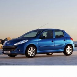 For Peugeot 206+ after 2009 with Halogen Lamps