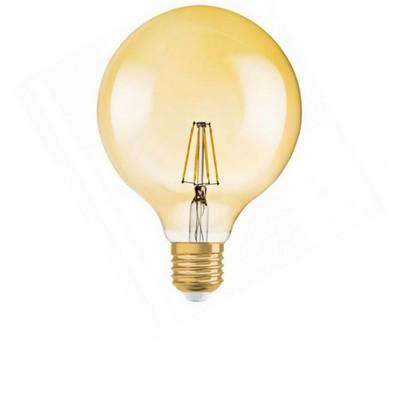 Borostyan burás filament LED
