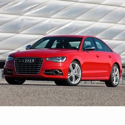 Autó izzók a 2011 utáni bi-xenon fényszóróval szerelt Audi S6 (4G)-hoz