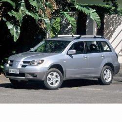 Autó izzók halogén izzóval szerelt Mitsubishi Outlander (2001-2004)-hez