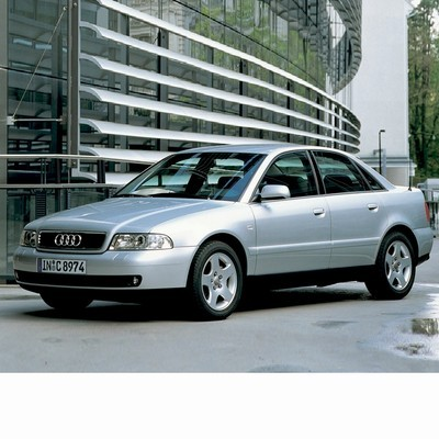 Autó izzók két halogén izzóval szerelt Audi A4 (1999-2001)-hez