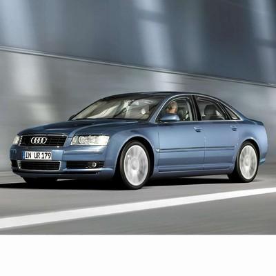 Autó izzók halogén izzóval szerelt Audi A8 (2002-2009)-hoz