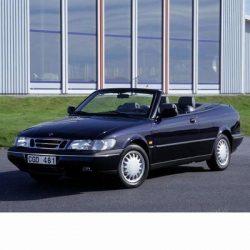 Saab 9-3 Cabrio (1998-2002) autó izzó