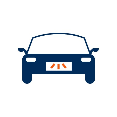 Hátsó rendszámtábla világítás izzó Audi A7 Sportback (4GA)-hez