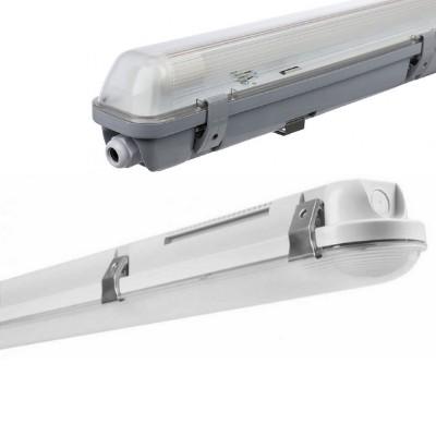 IP65 por és páramentes lámpatest