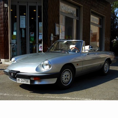 Autó izzók halogén izzóval szerelt Alfa Romeo Spider 115 (1971-1993)-höz