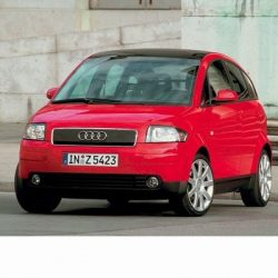 Autó izzók halogén izzóval szerelt Audi A2 (2000-2005)-höz