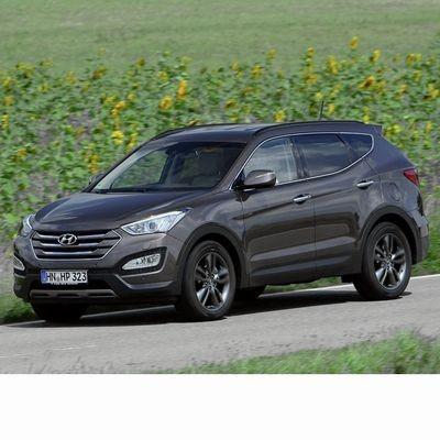 Autó izzók xenon izzóval szerelt Hyundai Santa Fe (2013-2018)-hez