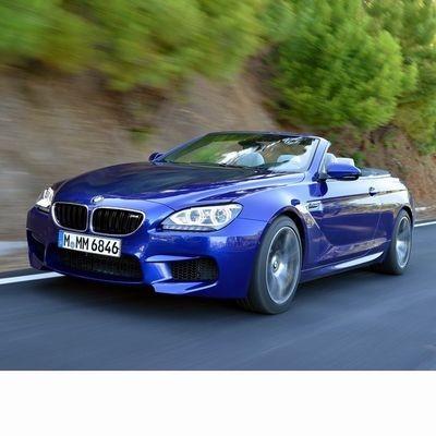 Autó izzók a 2012 utáni ledes fényszóróval szerelt BMW M6 Cabrio (F13)-hoz