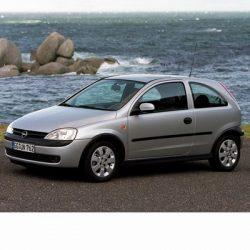 Autó izzók Bosch típusú halogén tompított fényszóróval szerelt Opel Corsa C (2000-2006)-hez