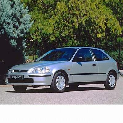 Autó izzók halogén izzóval szerelt Honda Civic (1995-2000)-hez