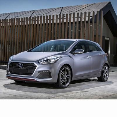 Autó izzók halogén izzóval szerelt Hyundai i30 (2015-2017)-hoz