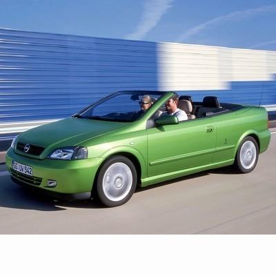 Opel Astra G Cabrio (2001-2005) autó izzó