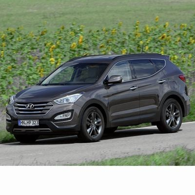 Autó izzók halogén izzóval szerelt Hyundai Santa Fe (2013-2018)-hez