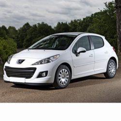 Autó izzók halogén izzóval szerelt Peugeot 207 (2009-2012)-hez