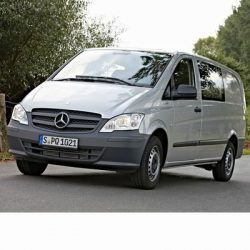 For Mercedes Vito after 2011 with Halogen Lamps