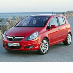 Autó izzók halogén izzóval szerelt Opel Corsa D (2006-2010)-hez