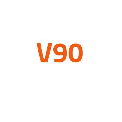 Volvo V90 autó izzó