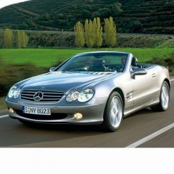 For Mercedes SL (2002-2012) with Halogen Lamps