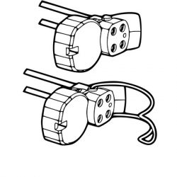 G10q Circular Fluorescent Lamp Holders