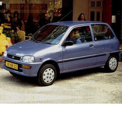 Autó izzók halogén izzóval szerelt Daihatsu Cuore (1998-2002)-hez