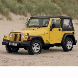 Autó izzók halogén izzóval szerelt Jeep Wrangler (1997-2006)-höz