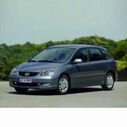 Autó izzók halogén izzóval szerelt Honda Civic (2003-2005)-hez