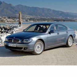 Autó izzók halogén izzóval szerelt BMW 7 (2005-2008)-hez