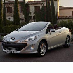 Autó izzók a 2009 utáni bi-xenon fényszóróval szerelt Peugeot 308 Coupe-hoz