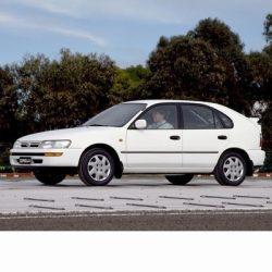 Autó izzók halogén izzóval szerelt Toyota Corolla 5 ajtós (1991-1997)-hoz
