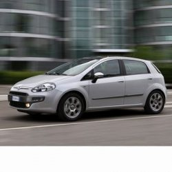 Autó izzók halogén izzóval szerelt Fiat Punto Evo (2009-2012)-hoz