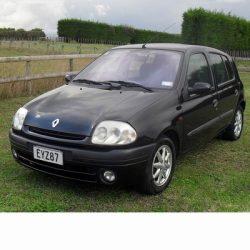 Autó izzók két halogén izzóval szerelt Renault Clio (1998-2001)-hoz