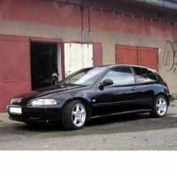 Autó izzók halogén izzóval szerelt Honda Civic (1991-1995)-hez