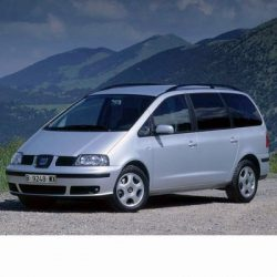 For Seat Alhambra (2001-2004) with Halogen Lamps