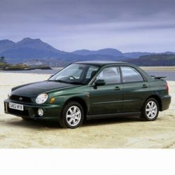 Autó izzók két halogén izzóval szerelt Subaru Impreza Sedan (2000-2002)-hoz
