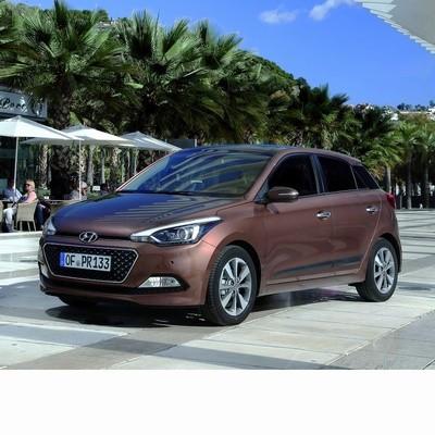 Hyundai i20 (2014-2020) autó izzó