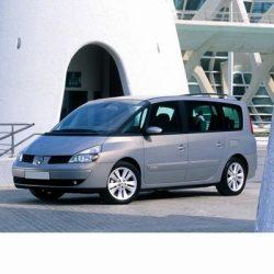 Autó izzók halogén izzóval szerelt Renault Espace (2003-2006)-hoz